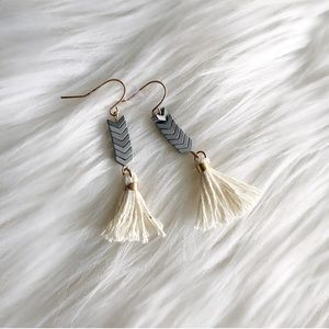 Madewell handcrafted earrings
